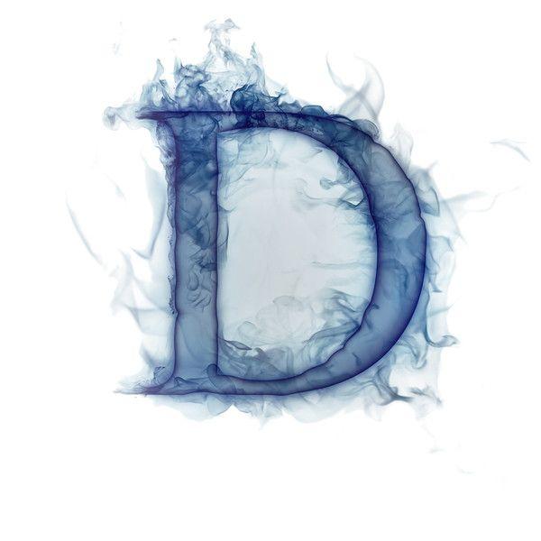 Smoke Letters D Picture Letters Letter D Alphabet Wallpaper