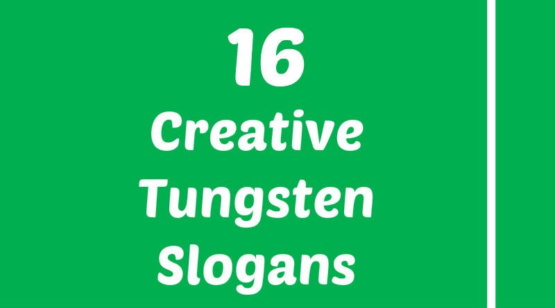 Tungsten Slogans Element Slogans Pinterest Slogan Atomic