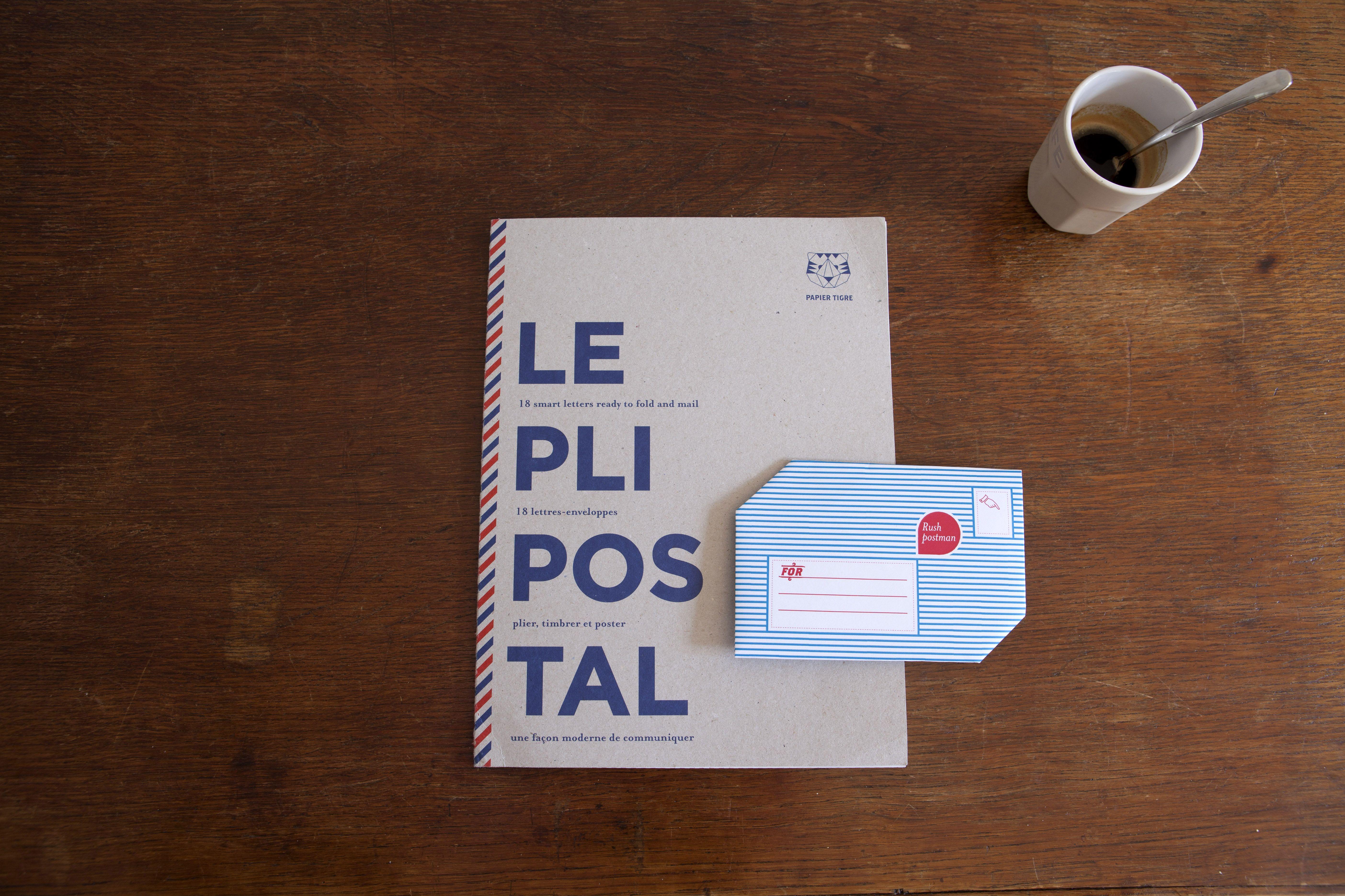 The Pli Postal. By Papier Tigre
