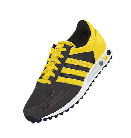 adidas la trainer gialle