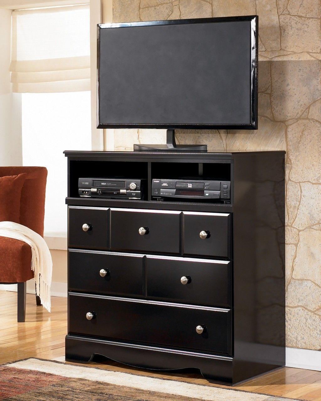 Miami Direct Furniture - The Shay bedroom collection media chest ...