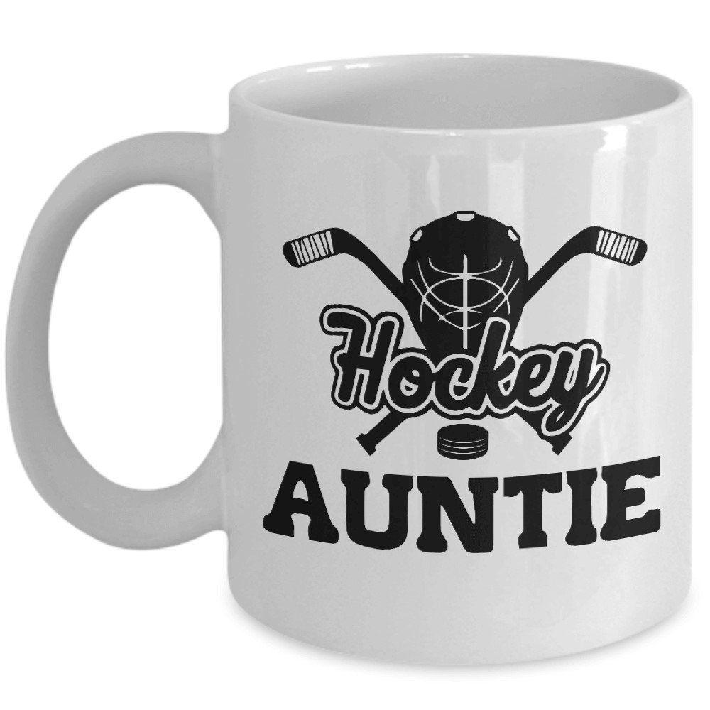Hockey Aunt Mug Worlds Greatest Auntie I Love Auntie Mug