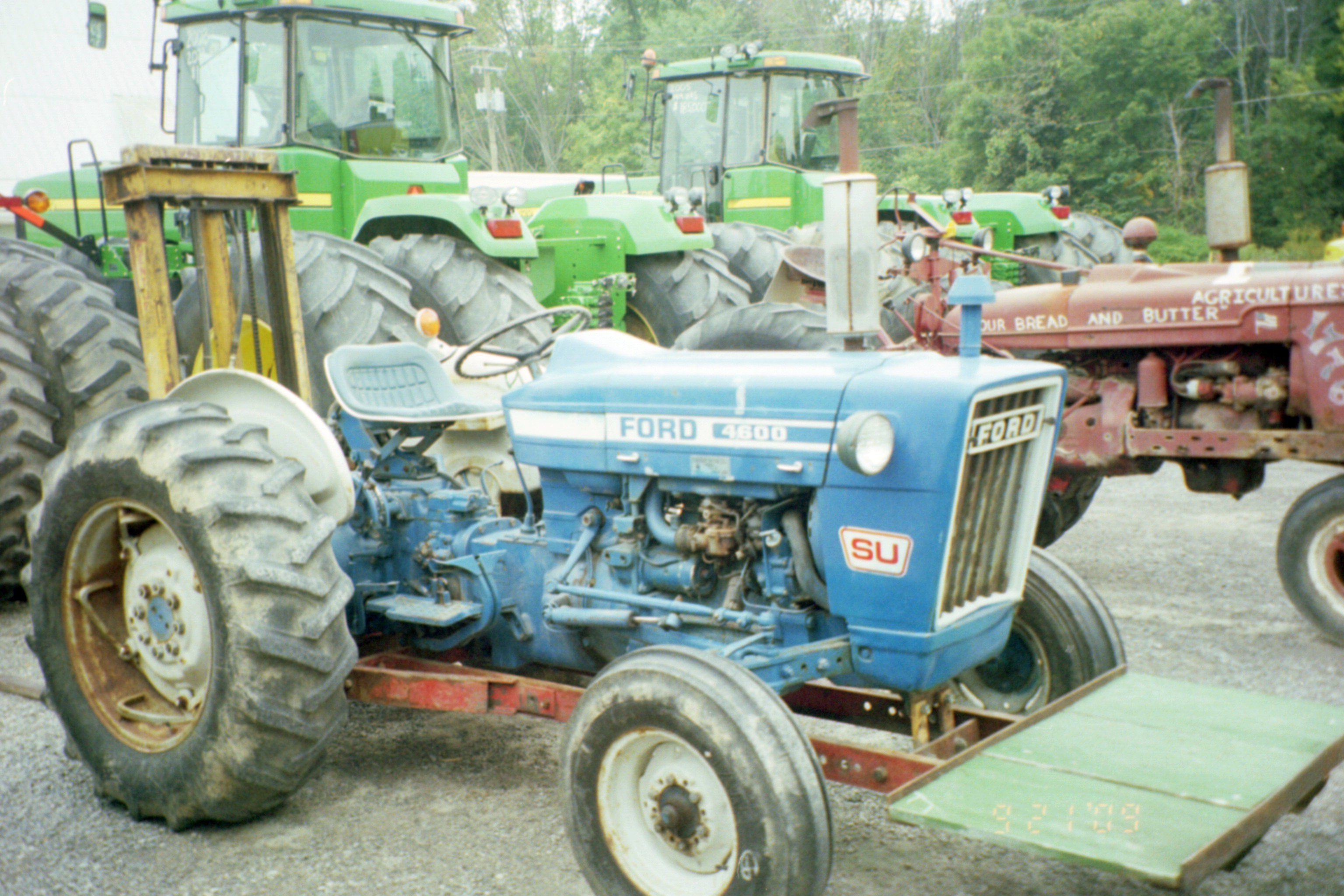52hp ford 4600 su special utility ford tractors equipment 52hp ford 4600 su special utility pooptronica Images