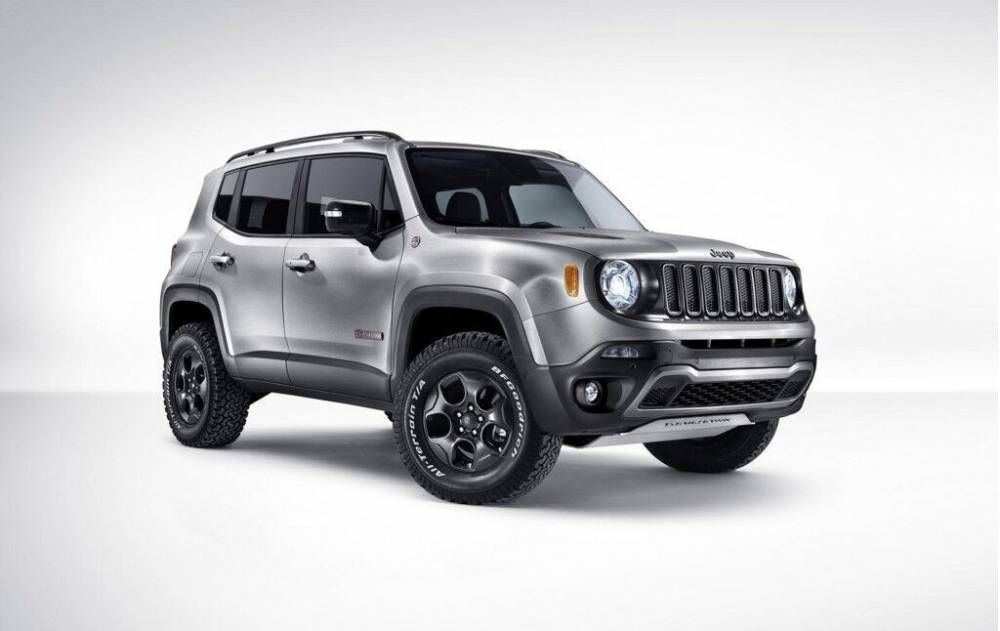 Novo Jeep Renegade 2017 >> 2017 Jeep Renegade Silver Color Exterior Jeep Pinterest Jeep