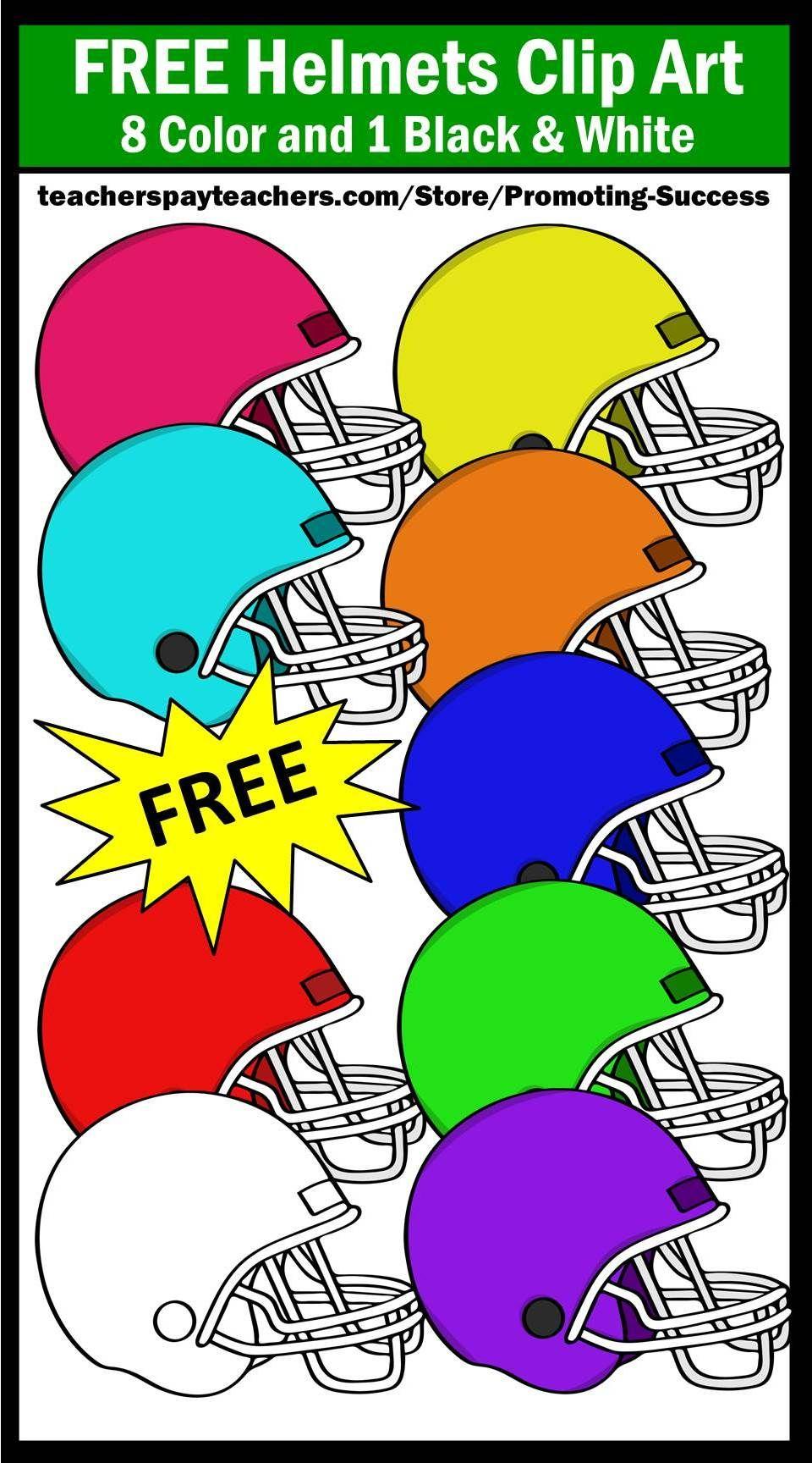 Free football helmet clipart sps teaching activities