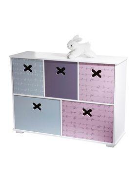 Etag re de rangement 5 bacs p 39 tit nid chambre enfant chambre des filles pinterest babies - Etagere rangement chambre ...