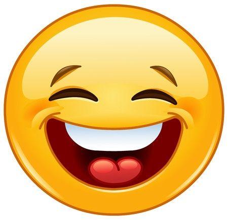 Big Smile Laughing Emoji Laughing Emoticon Emoji