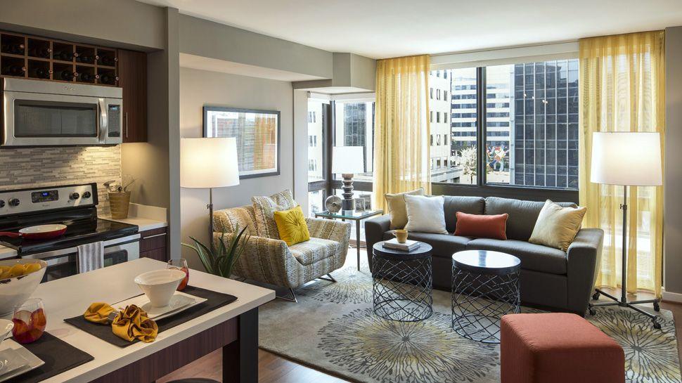 2 Bedroom Apartments Arlington Va Captivating Sedonaslate1510 Clarendon Boulevard Arlington Va 22209 . Design Decoration