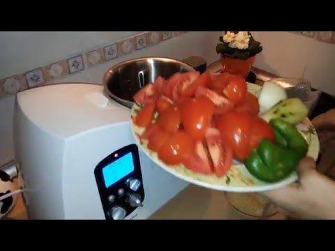 Receta de Gazpacho Andaluz Monsieur Cuisine Lidl Español #recettemonsieurcuisinesilvercrest Receta de Torrijas Monsieur Cuisine Lidl Silvercrest - YouTube #recettemonsieurcuisinesilvercrest