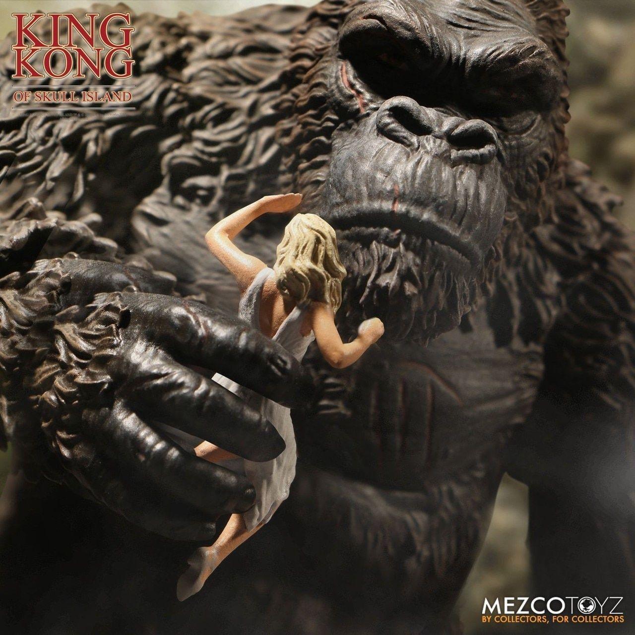Skull Island King Kong Action Figure Regular Version King Kong Skull Island Movie Monsters