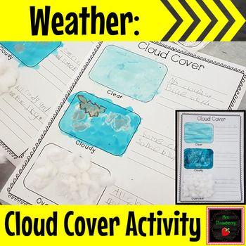 weather cloud cover activity exploring clouds science activities phonics activities. Black Bedroom Furniture Sets. Home Design Ideas