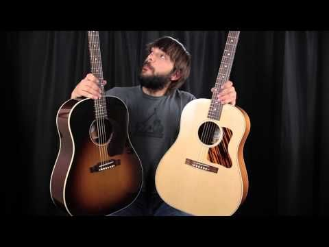 Gibson J45 Vs J35 Can You Hear The Difference Guitar Gibson Acoustic Acoustic Guitar