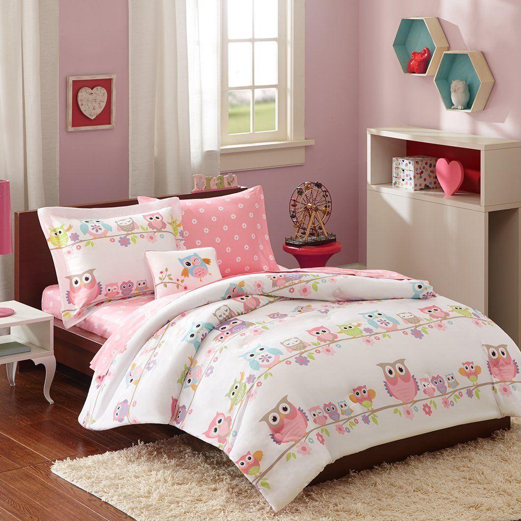 Yellow Grey White Simple Modern Bedding Sets Comforter