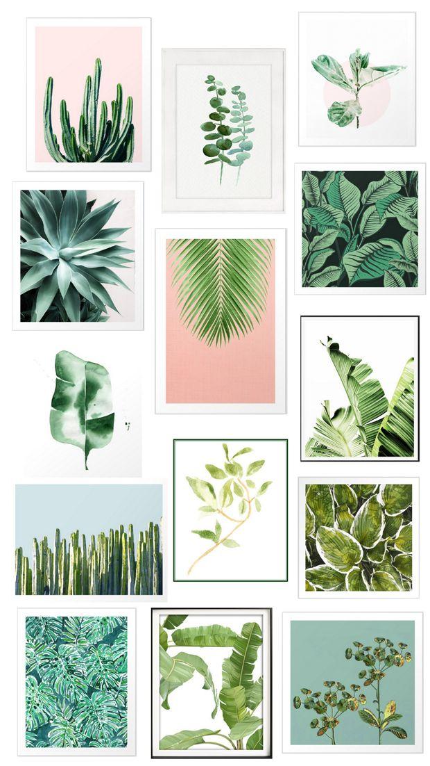 Greenery as Art   Centsational Style