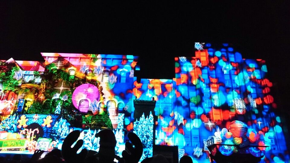 Projection mapping projection mapping Usj