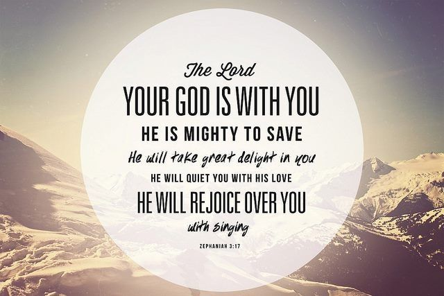 <3 He is with me