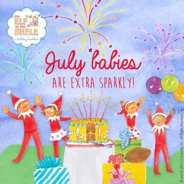 Happy Birthday To All Of The July Babies Out There