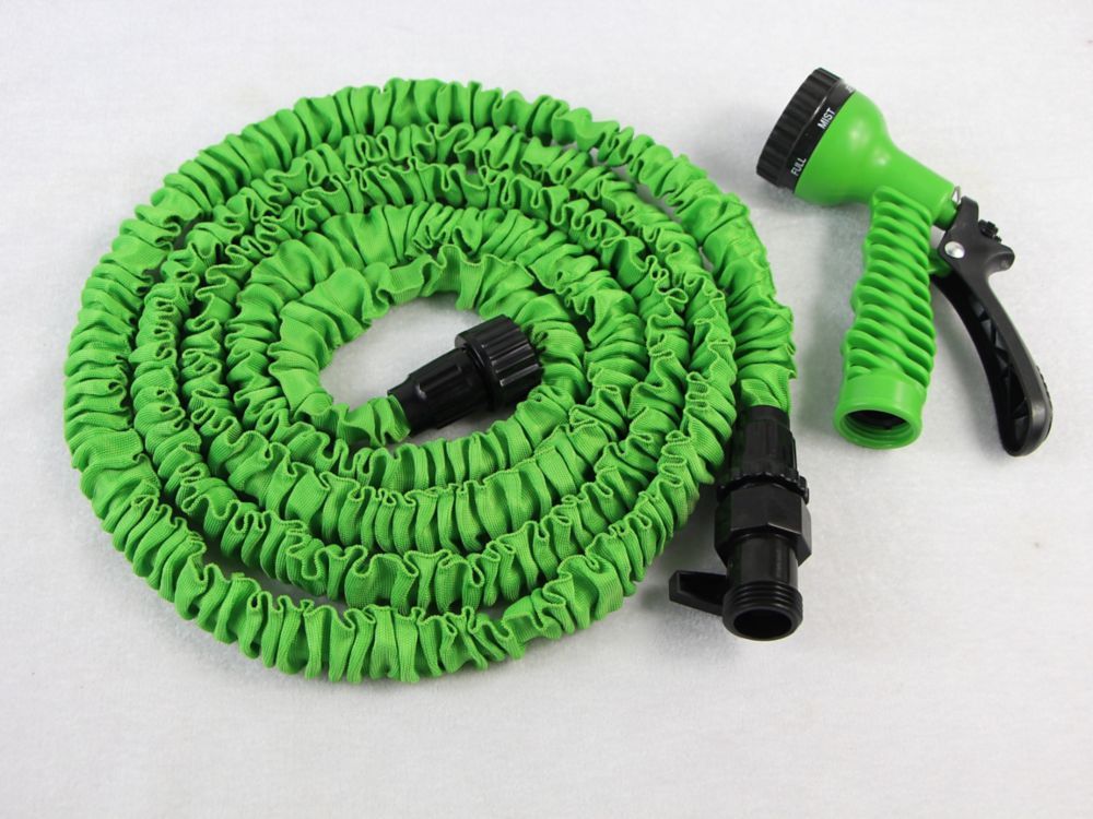 Advantage 25 Feet Expanding Garden Hose With Nozzle (With
