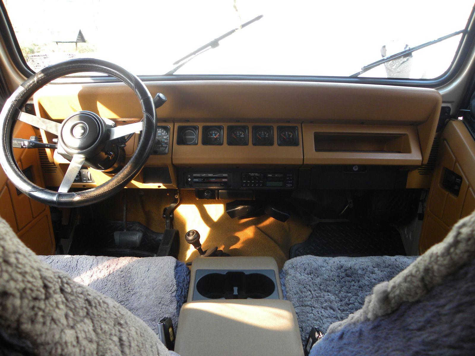 Picture of 1995 Jeep Wrangler S, interior Jeep