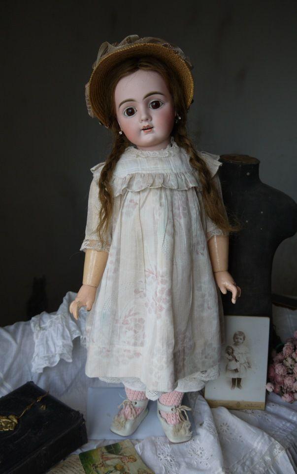 Старинная антикварная кукла Bahr&Proschild 350 - Бэйбики ...