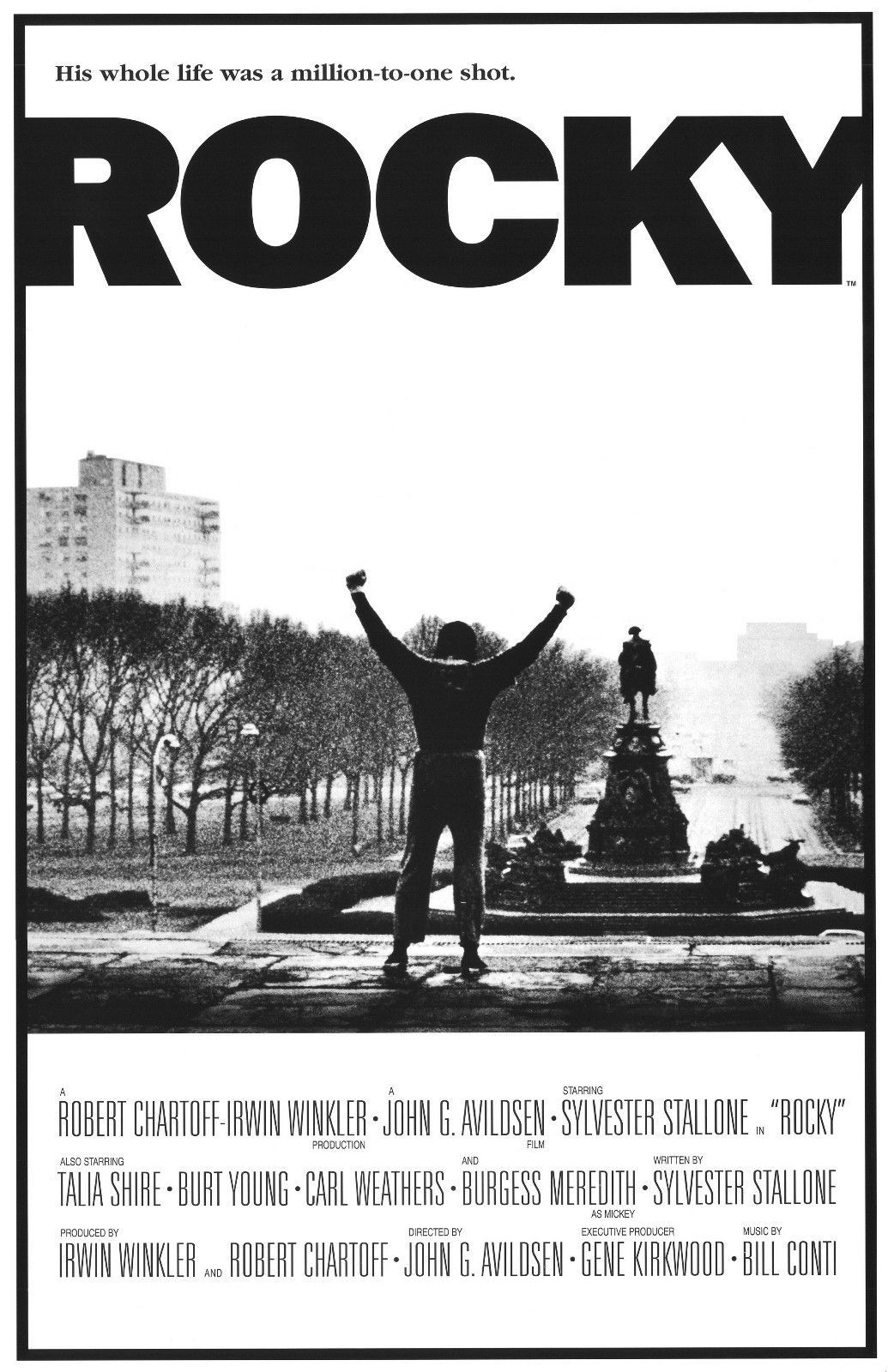 Rocky V Sylvester Stallone Advertising Poster Repro