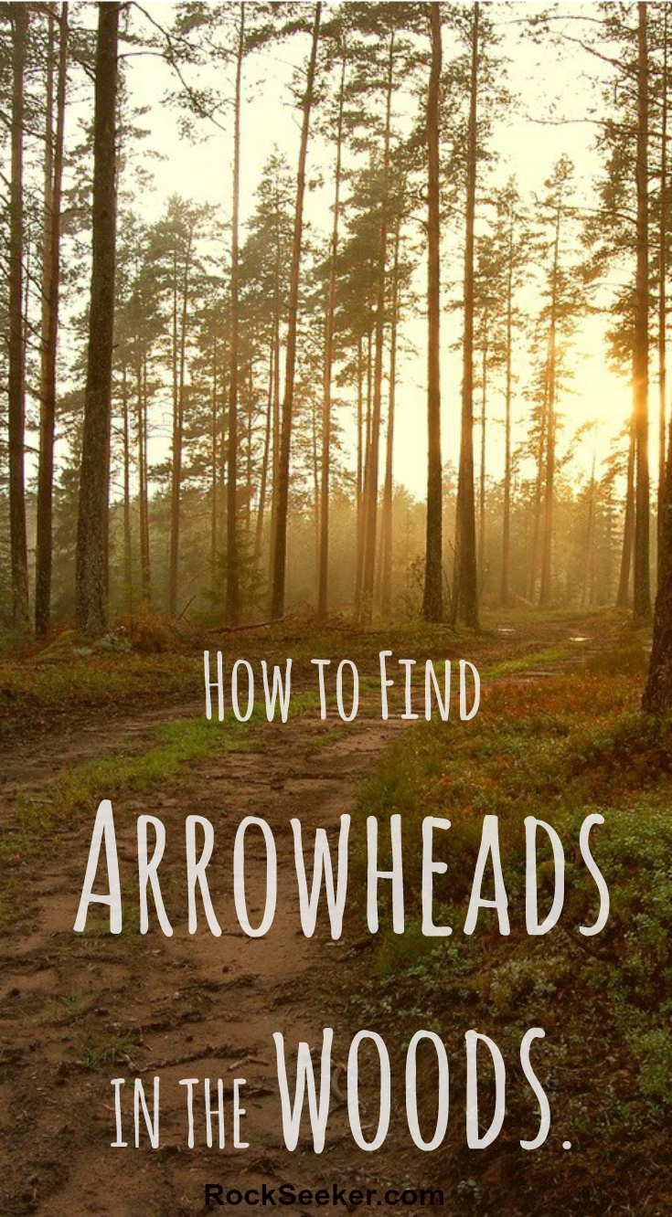 How To Find ARROWHEADS In The Woods: Arrowhead Hunting Guide