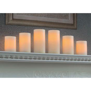 Flameless Candles With Remote Costco Costco Northern International 6Pack Flameless Led Candles With