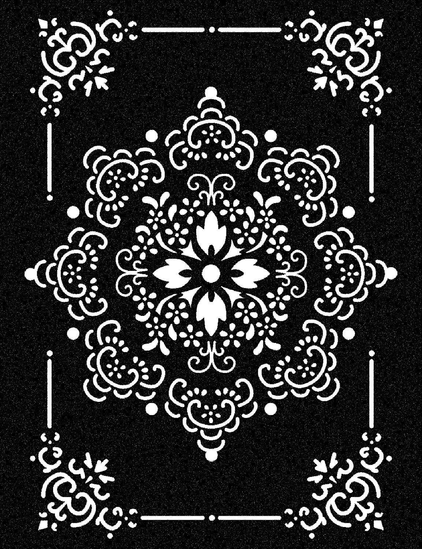 schablone, stamperia ornament: amazon.de: spielzeug | mandale