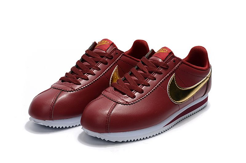 best loved 57861 e445d Nike Classic Cortez Red Gold