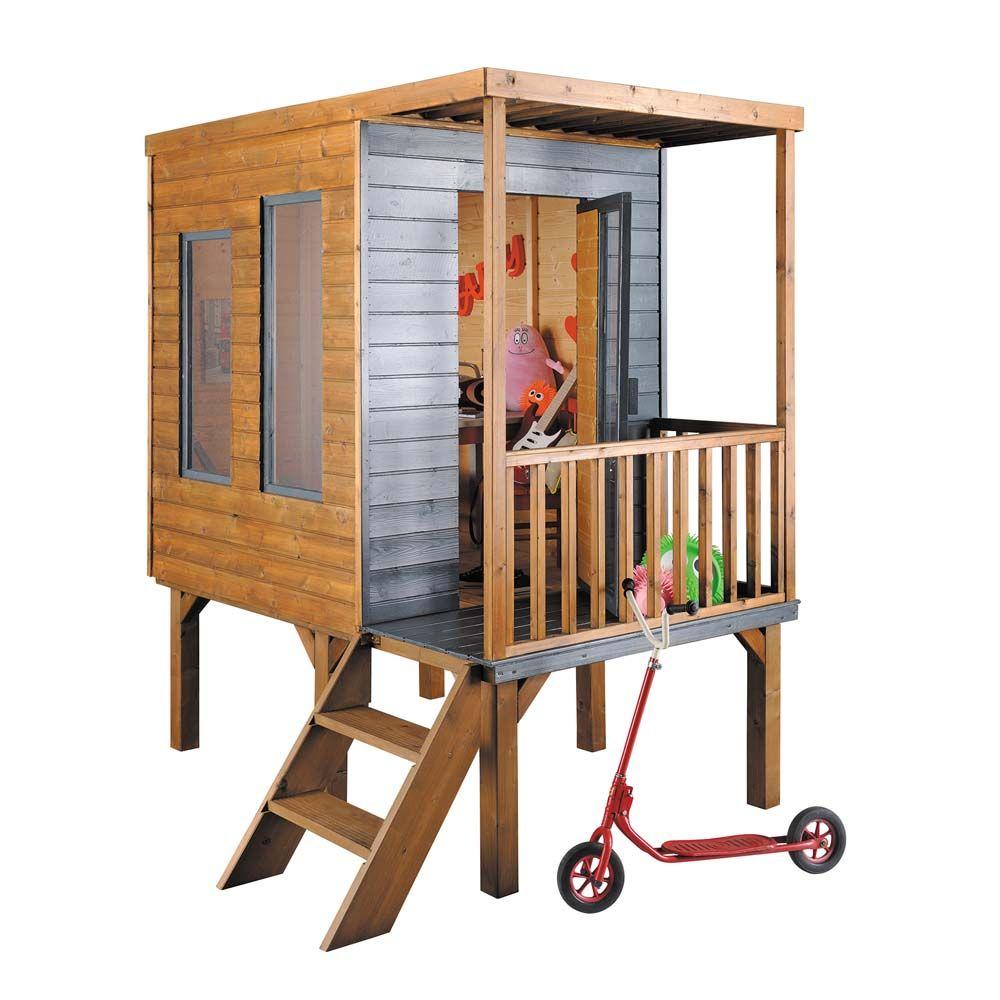 jardipolys kinder garten spielhaus calao treppe | kinder spielhaus, Gartengerate ideen