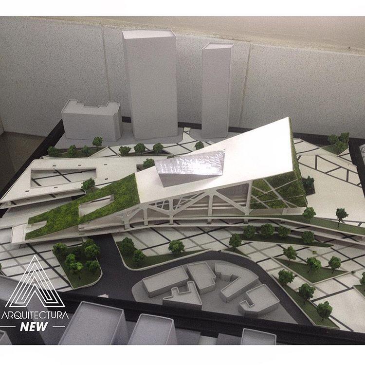 Trabajo de grado centro cultural metropolitano for Grado en arquitectura