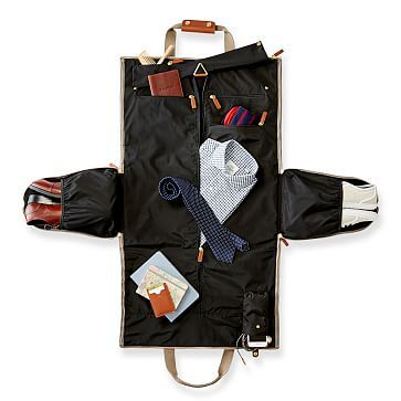 ba4460c30 A design too brilliant to be believed  make work travel exponentially  easier with this single bag that includes a garment bag