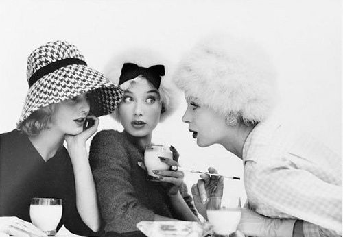 Image result for people gossiping vintage