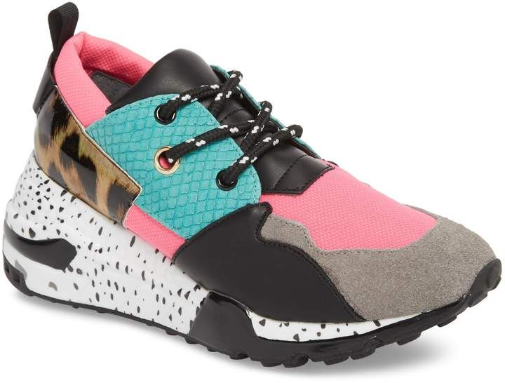 488255c1375 Women's Steve Madden Cliff Sneaker, Size 5.5 M - Green | Outfits ...