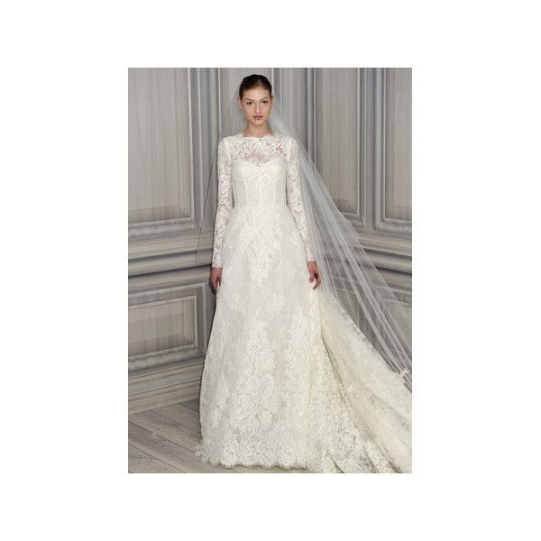 Get Kate Middleton S Royal Wedding Dress Look Martha Weddings Liked On Polyvore Featuring