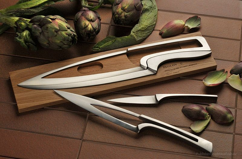 It Is Made Of High Quality Stainless Steel And Appears To Be Captivating Kitchen Knife Design Design Ideas