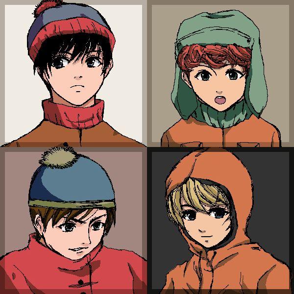 South Park Anime Kenny X Kyle 6d941e35b18c0a7bd0c44149472ca5 ...