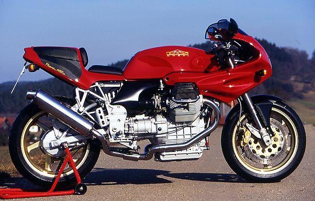 moto guzzi - prova 1100iedas mototec | motorcycle art