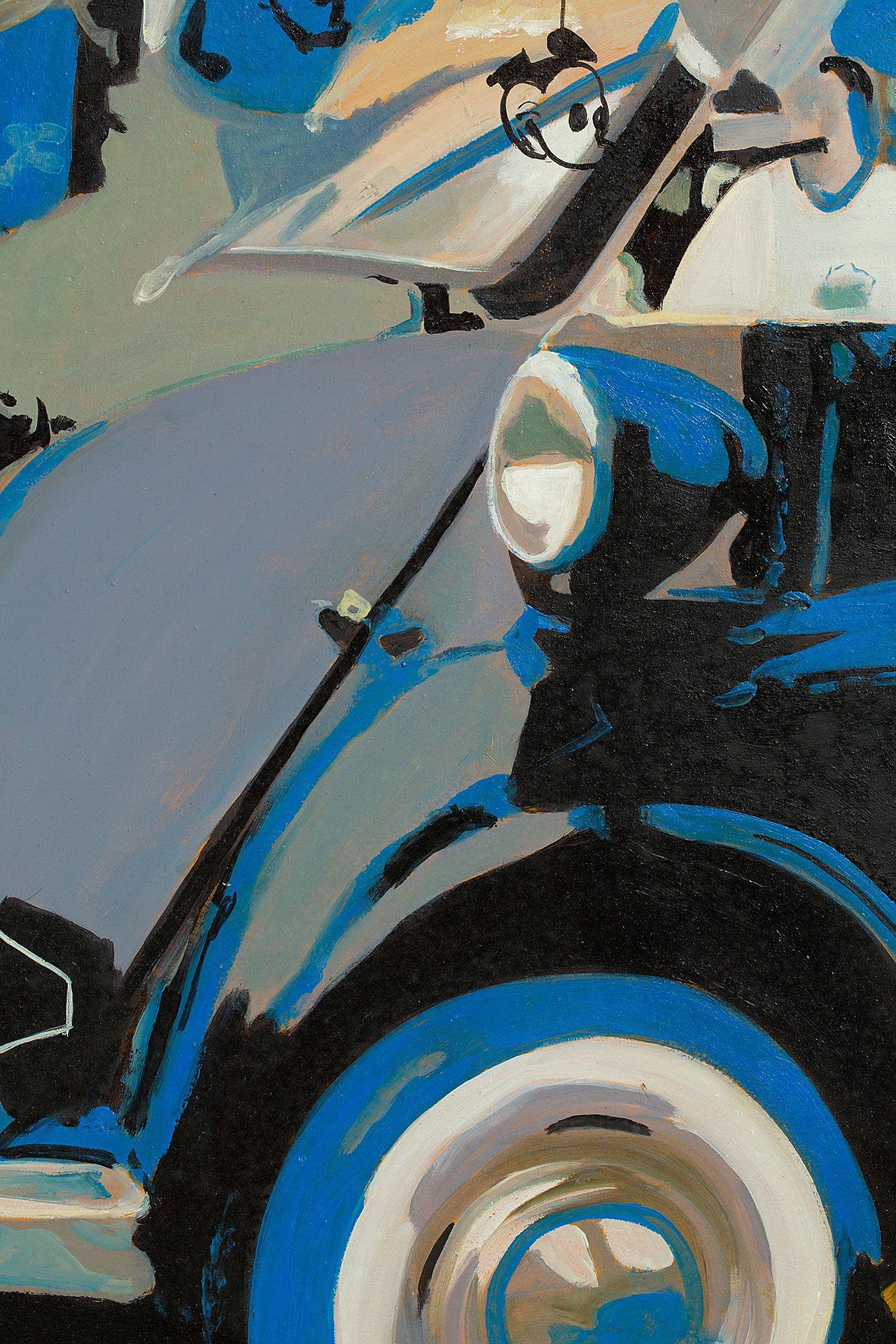 pLAY iSETTA - 120 x 160cm - SOLD / Vendue  Oil on Canvas / Peinture à L'huile sur toile