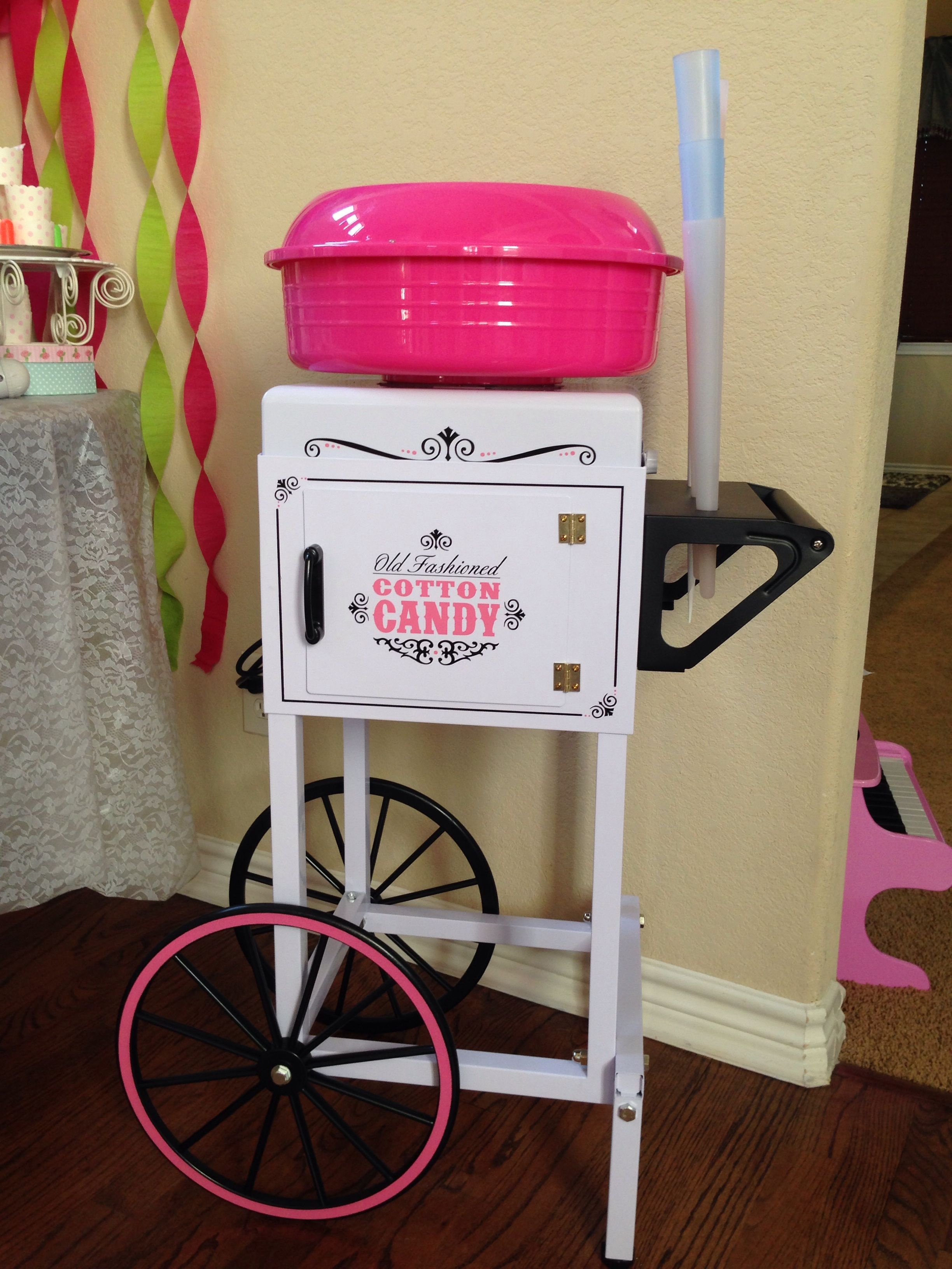 Cotton Candy Machine Purchased At Big Lots