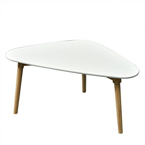 Pm Tables Simple Modern Solid Wood Side Small Coffee Table Mini