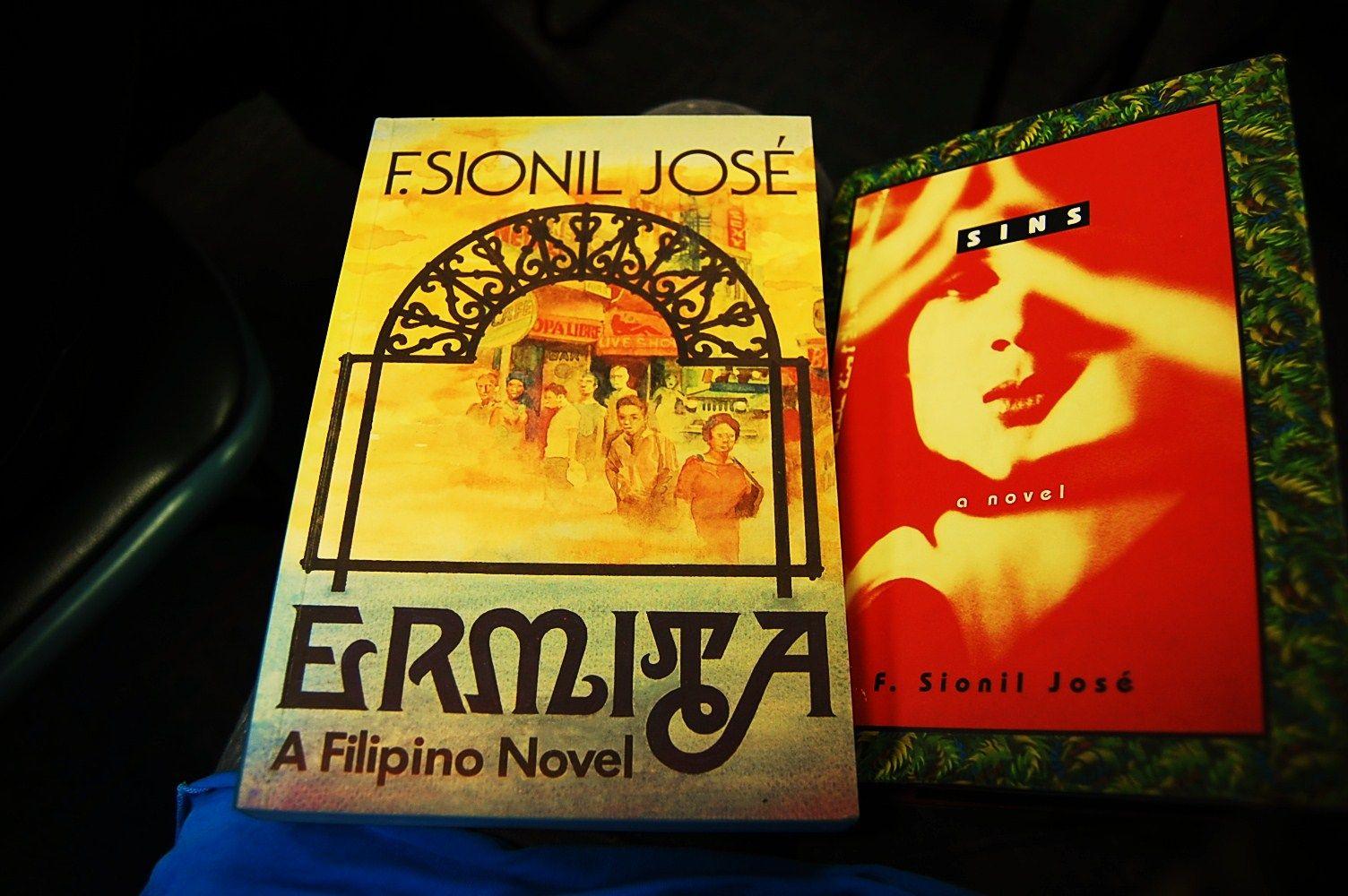 books by F. Sionil Jose, Filipino National Artist. His
