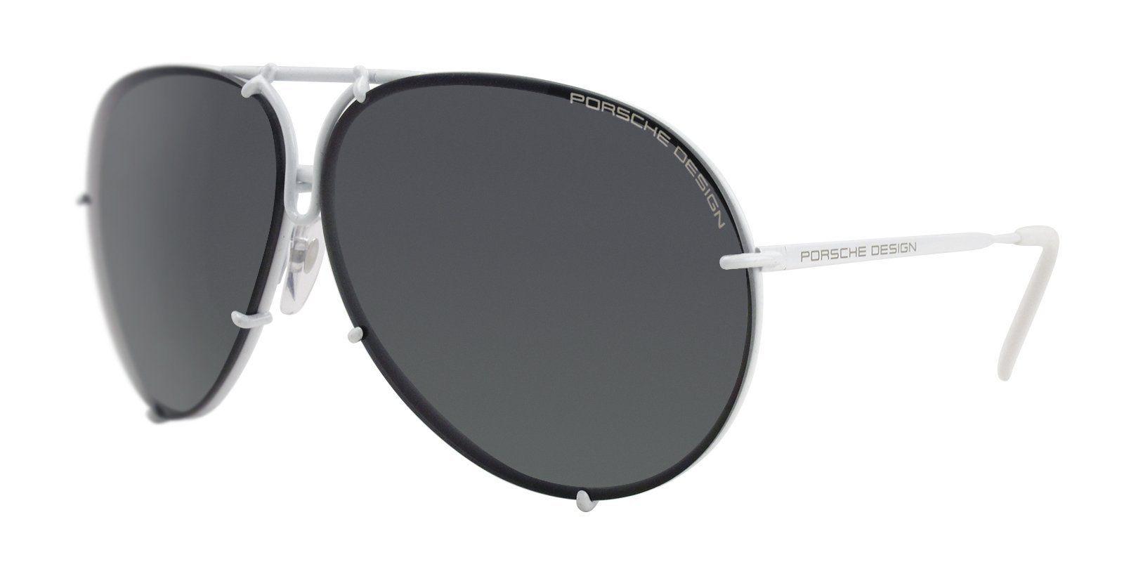 d2bfe3cd2e Porsche Design - P8478 White - Black-sunglasses-Designer Eyes ...