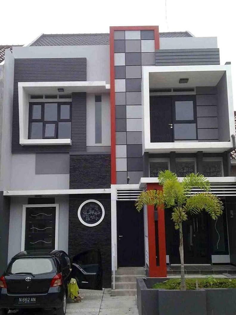 Rumah Minimalis 2 Lantai Sederhana Tampak Elegan Desain Rumah