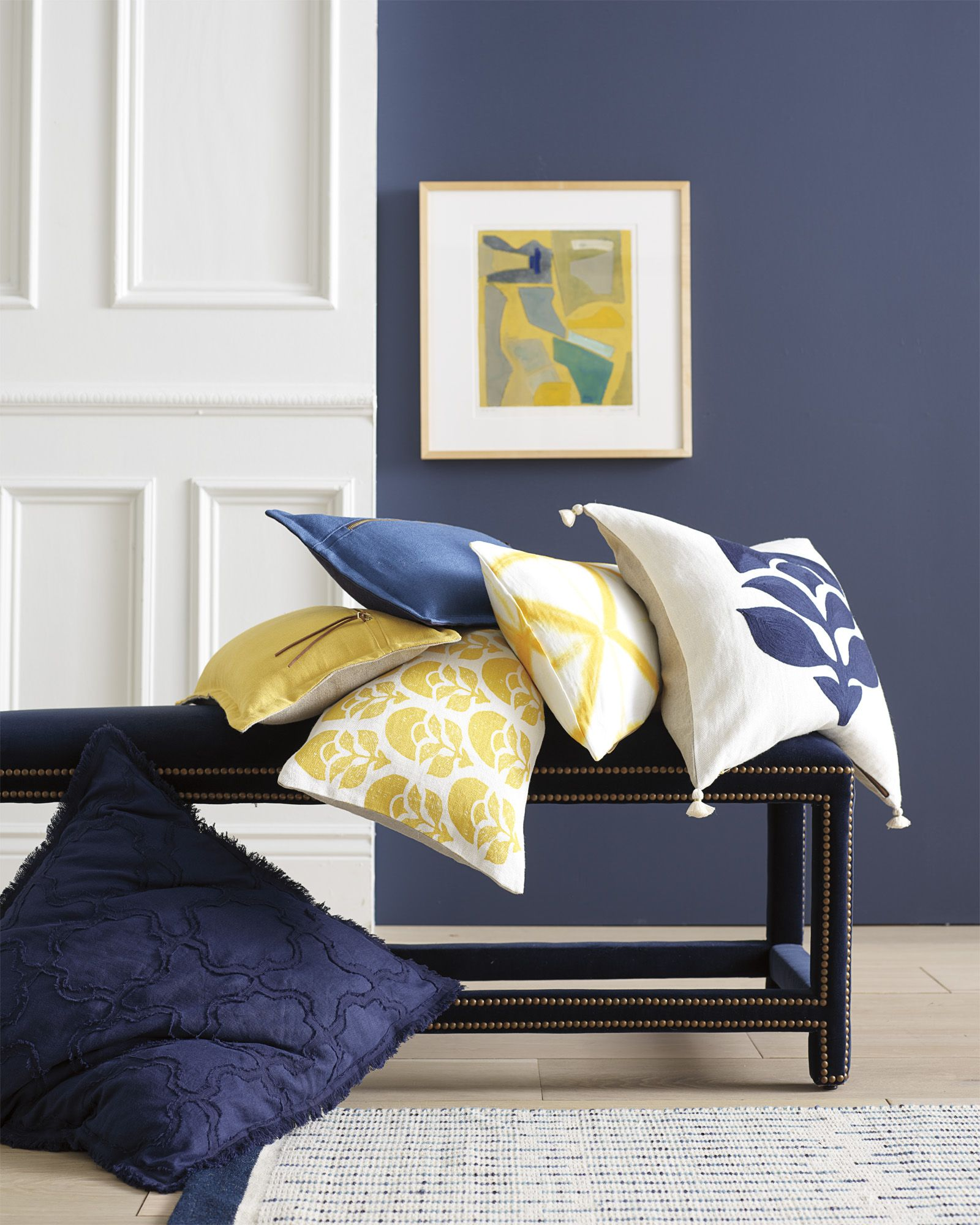 Add Pops Of Color To Your Pillowscape | Larkspur Printed Pillow Cover Via  Serena U0026 Lily
