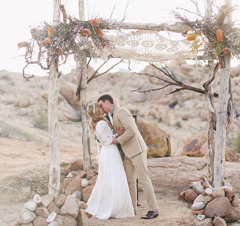 Boho Desert Love