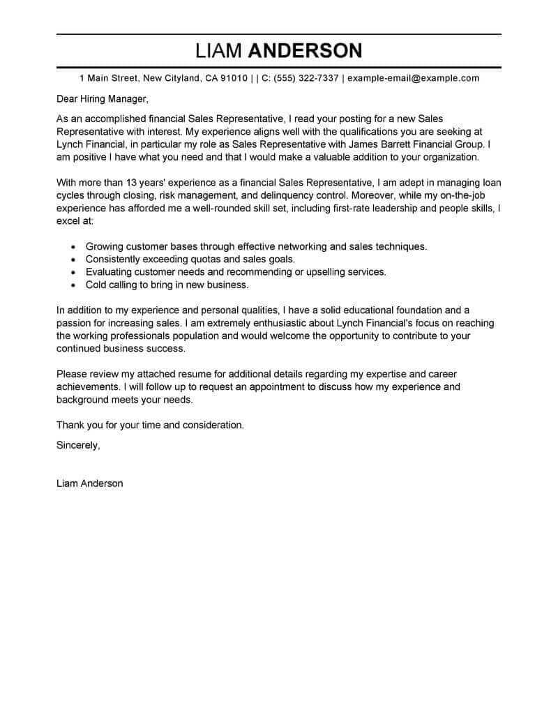 23 Simple Covering Letter Example Free Cover Examples For Every Job Search Livecareer