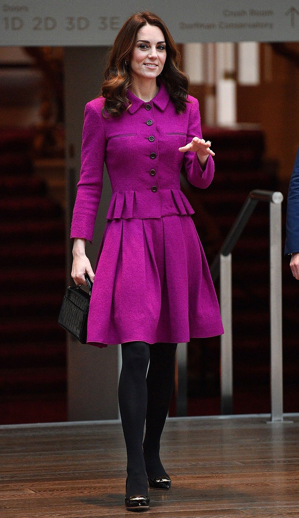 Kate Middleton wears ANOTHER green dress on final day of