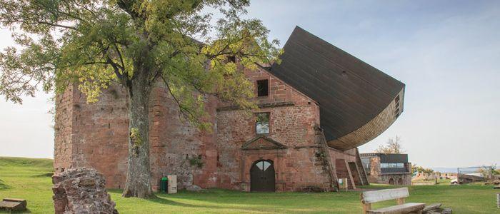 Chateaux Forts Alsace Le Ch 226 Teau De Lichtenberg