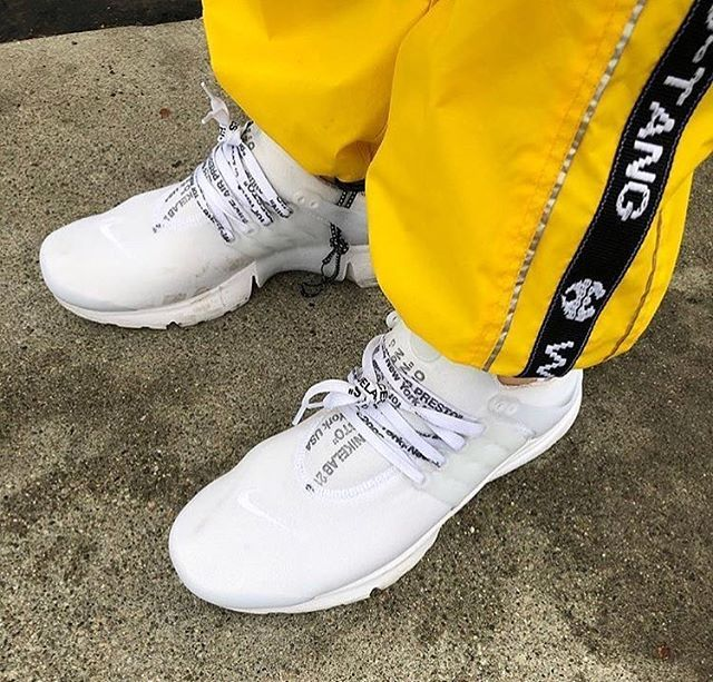 """48cd0d39a6888  Off-White x Nike Air Presto """"Extra Credit"""" - On Foot Picture 📸   sean wotherspoon -  Very Rare  -  ONUS"""